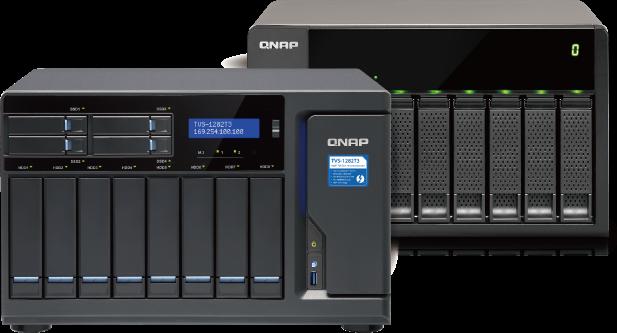 VM Backup Appliance Based on QNAP NAS